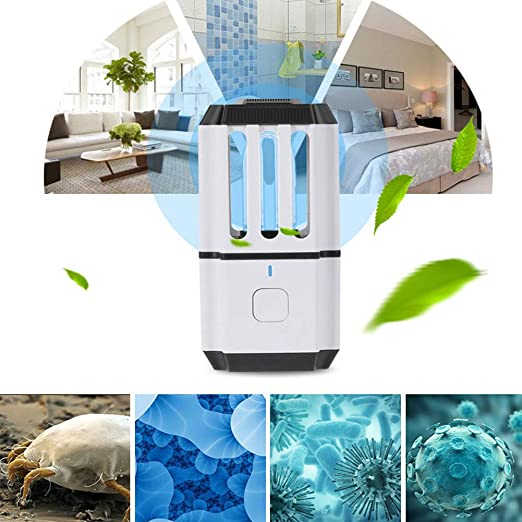 WFWPY Lámpara de desinfección UV lámpara de desinfección ...
