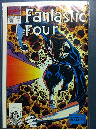 (Fantastic Four #352 No Time Like the Present May 91 Near-Mint (7 out of 10) Very Lightly Used by Mickeys Pubs)