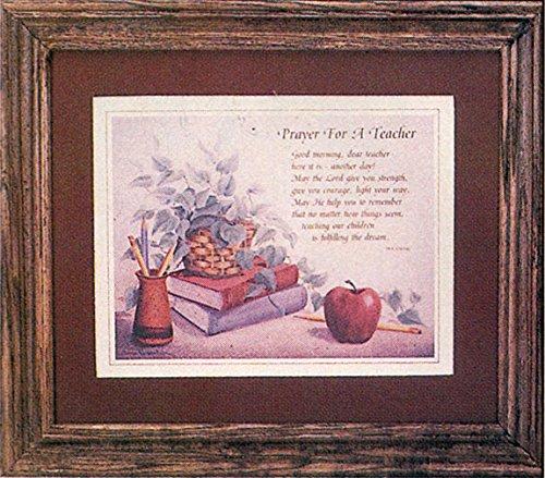 Framed Teacher's Prayer, pack of 1