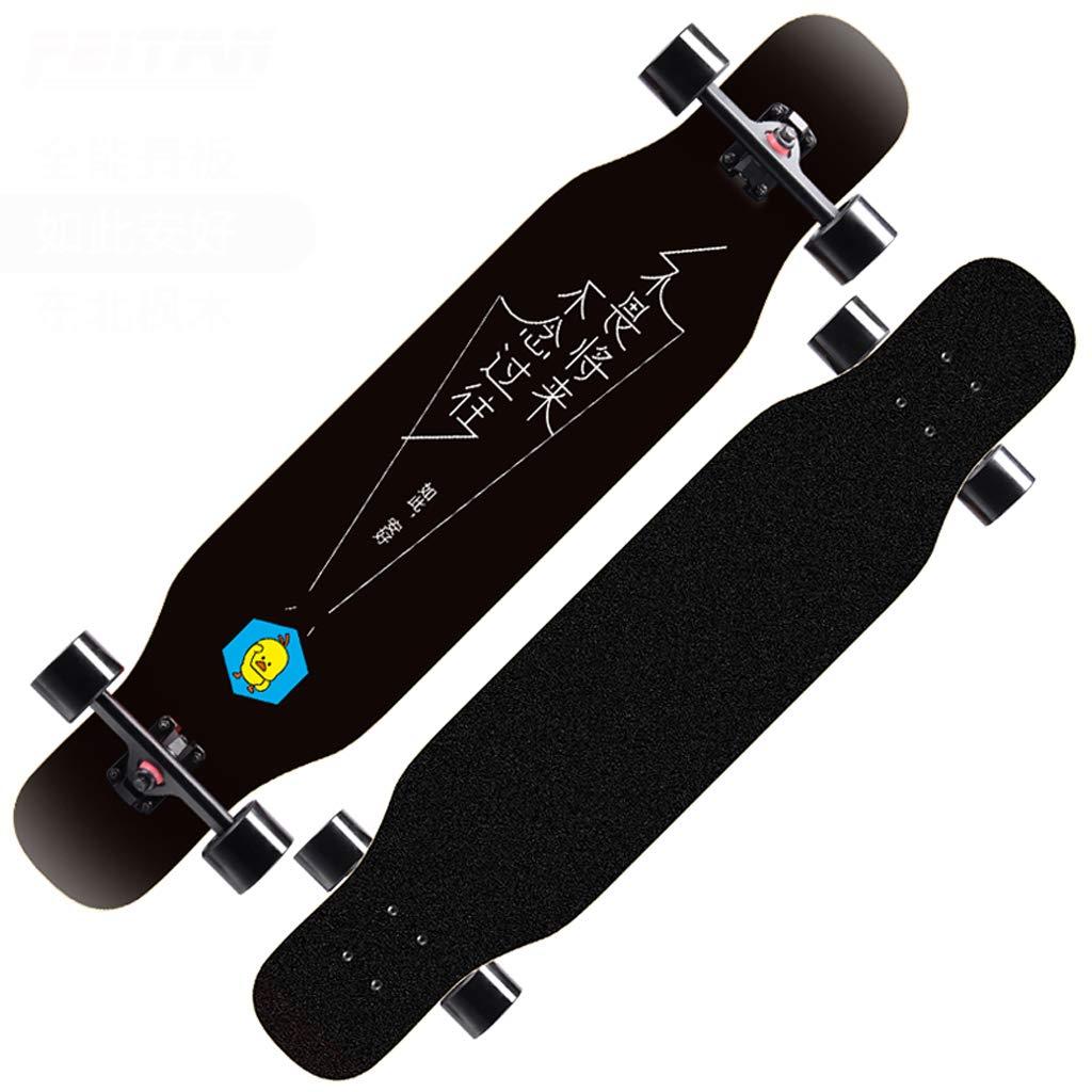 グランドセール DUWEN スケートボードロングボード初心者スケートボード大人の男の子と女の子のブラシストリートダンスボード10代の若者たちプロ4輪スクーター (色 E : DUWEN E) B07NRRPQFG (色 E, 大多喜町:85e87fa2 --- a0267596.xsph.ru