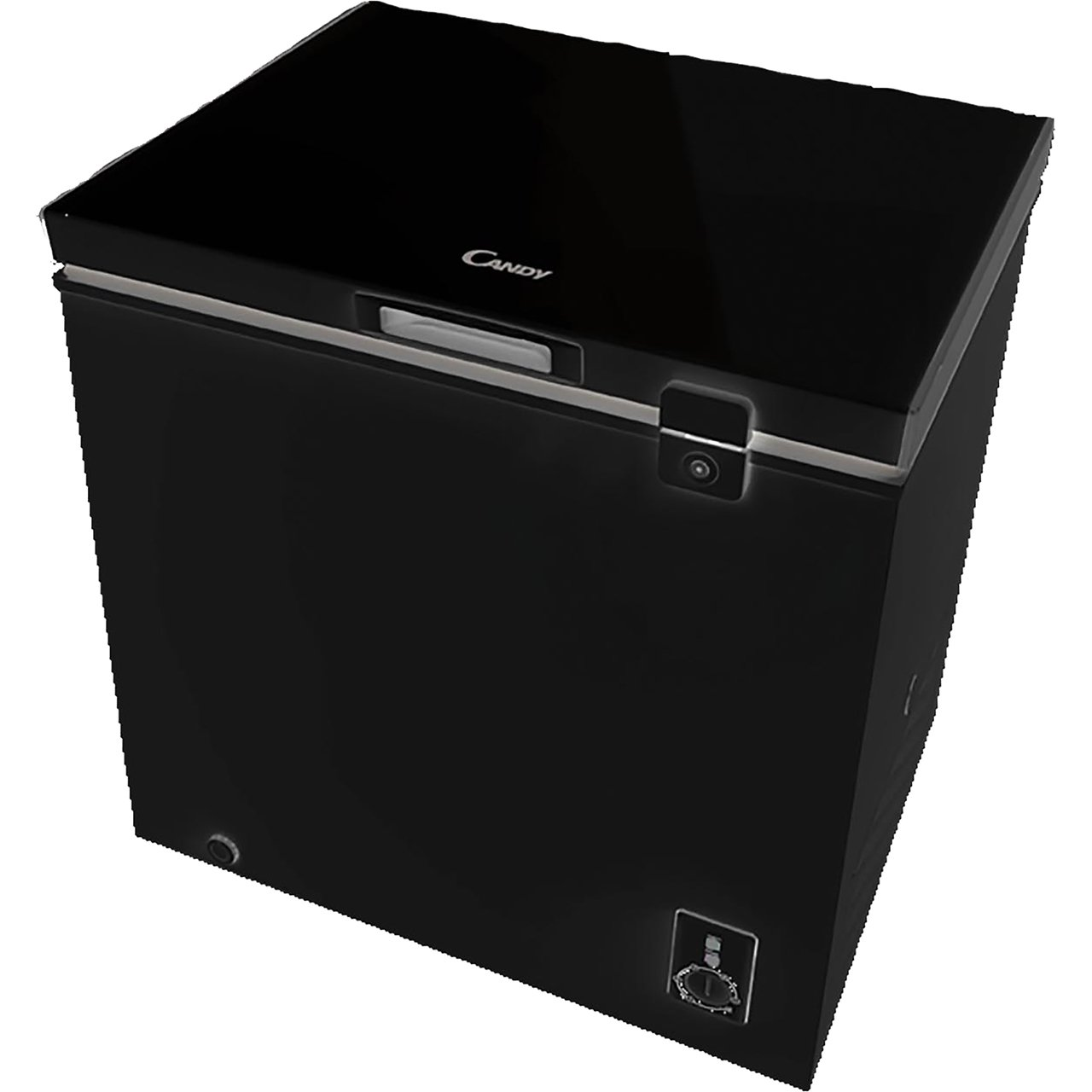 Candy CMCH100BUK Freestanding A+ Rated Chest Freezer in Black Hoover Group