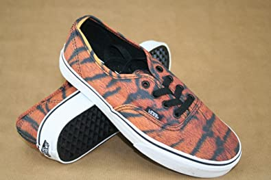 f13bd9870a Image Unavailable. Image not available for. Colour  Vans Authentic (Tiger)  Brown True White ...