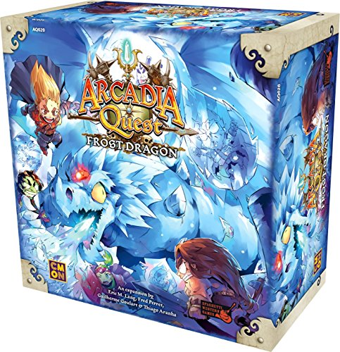 CMON Arcadia Quest Frost Dragon Board ()