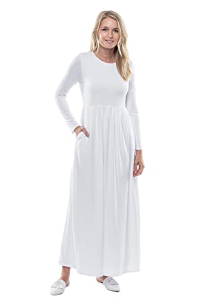 631a6e1f9be ModWhite Hydrangea White Temple Dress at Amazon Women s Clothing store