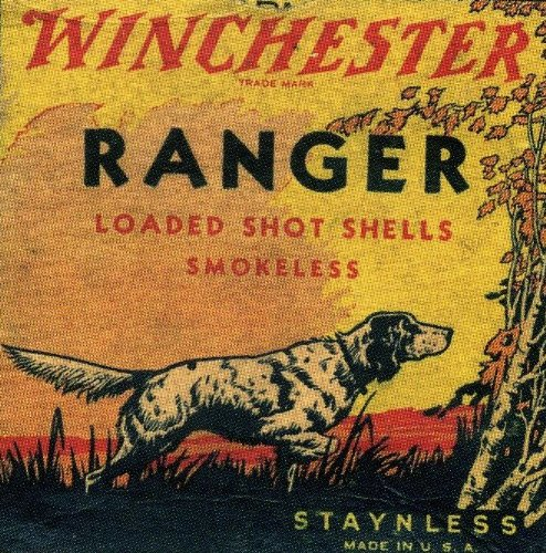 Winchester Ranger Shot Shell Coaster Set - Ammo Box