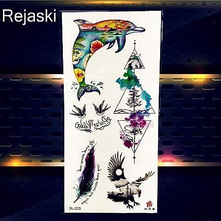 Yyoutop Niños Pegatinas de Tatuaje Impermeable Pequeño Kawaii Arte ...