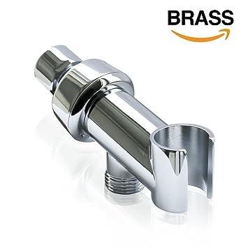 Embather Brass Shower Arm Mountshower Head Holder In Polished