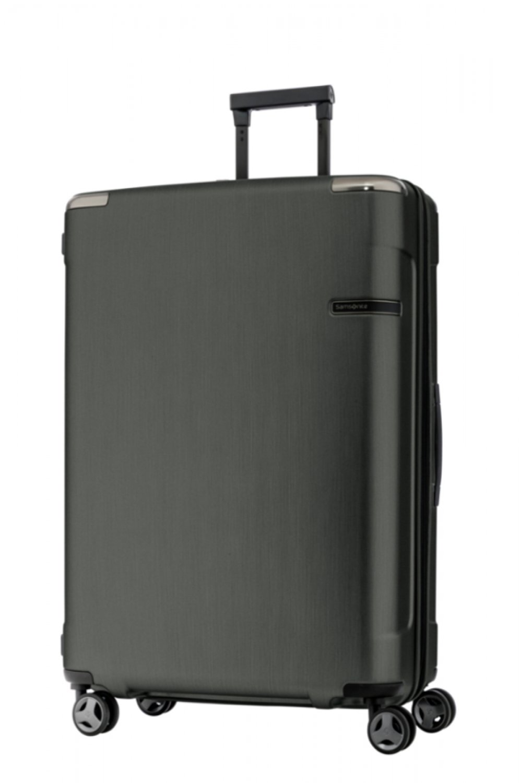 [サムソナイト] スーツケース Evoa エヴォアスピナー75 無料預入受託サイズ エキスパンダブル 保証付 108L 75cm 5.2kg DC0*07005 B0766L5QPH ブラッシュドブラック ブラッシュドブラック