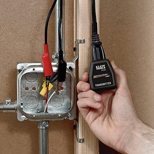 Circuit Breaker Finder, Finds Electrical Circuit Breaker of 120V Standard Outlet Klein Tools ET300 by Klein Tools (Image #2)