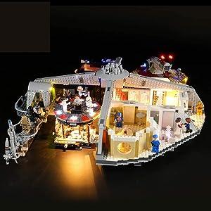 JXJ Kit De Iluminación Led para Bricolaje para Lego Star Wars TM Betrayal En Cloud City, Compatible con Bloques De Construcción Lego 75222 Alimentado por USB - No Incluye Modelo