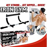 Perfect Fitness Multi-Gym Doorway Pull Up Bar and Portable Gym System by EWORLD