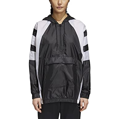 adidas originals womens fl windbreaker reversible hooded jacket
