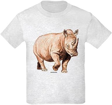 Brother Gift Rhinoceros Wildlife Animal Sleeve Short Top Baby Boys