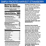 Simply Pop-Tarts, Toaster Pastries, Frosted Harvest
