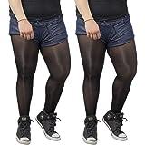 ElsaYX Mens Shiny Crotchless Pantyhose Tights 8D