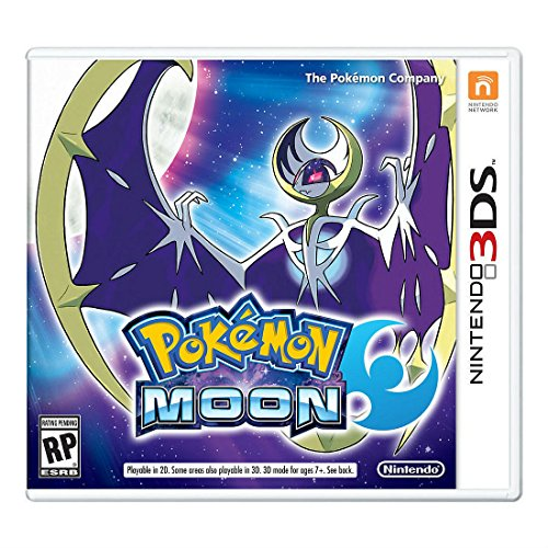 Pokemon Moon for Nintendo 3DS Hot Seller Items