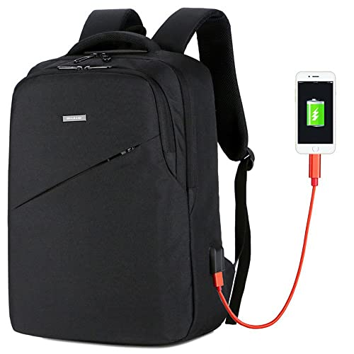 c9103dfd170c ALIKEEY Men School Bag Pack Adult Student Bag Business Unisex Capacity  Travel Backpack Small Lightweight Bags