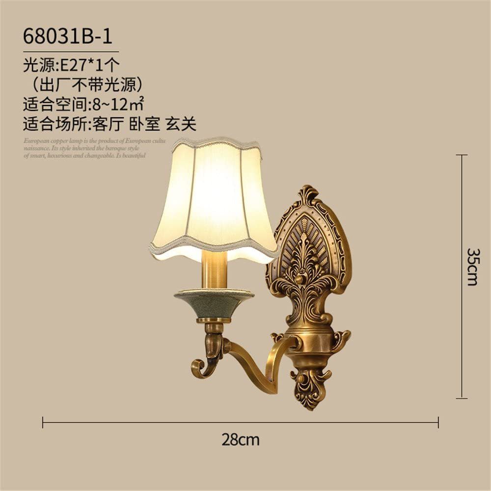 Avanthika E25 Wall Sconces Mounted Wall Lamps The Head of The Bed