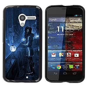 Be Good Phone Accessory // Dura Cáscara cubierta Protectora Caso Carcasa Funda de Protección para Motorola Moto X 1 1st GEN I XT1058 XT1053 XT1052 XT1056 XT1060 XT1055 // Sci Fi Fut