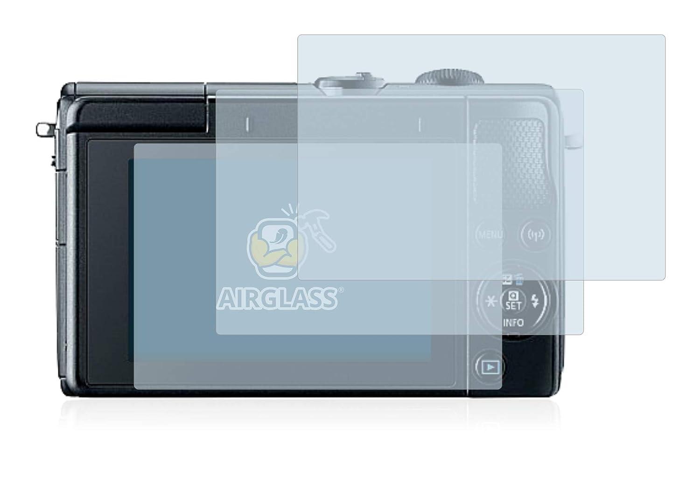 - Cristal Vidrio 9H AirGlass BROTECT Protector Pantalla Cristal para Canon EOS M100 3 Unidades