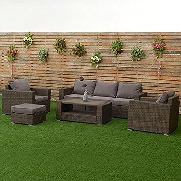 Amazon Costway 7 PCS Outdoor Patio Rattan Furniture Set