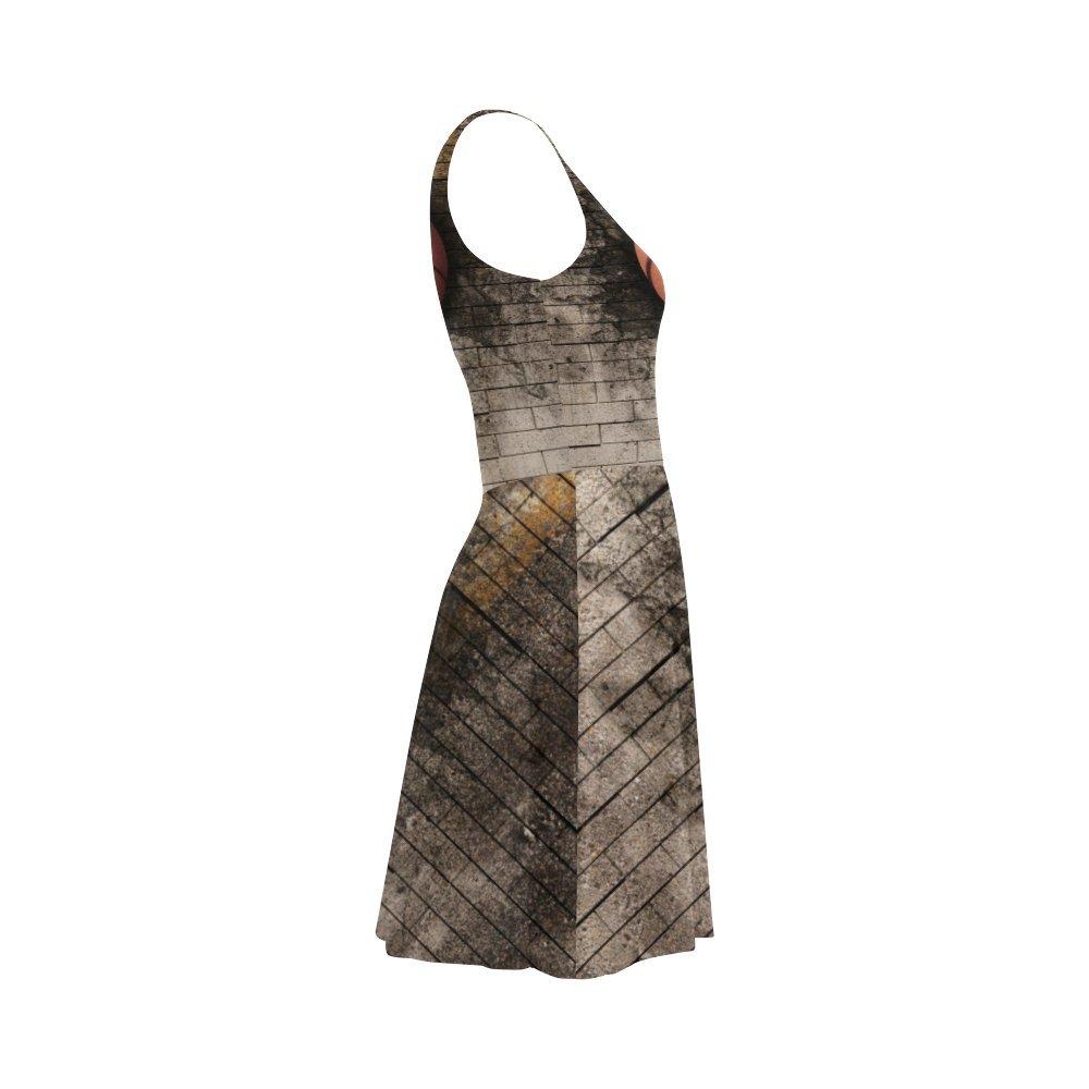 D-Story Women Dress Basketball Sleeveless Women Sundress Summer Dress
