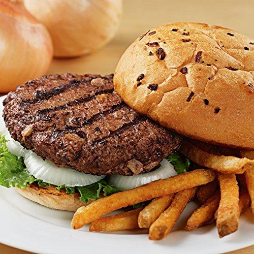 Kansas City Steaks 12 (4.5oz.) Sweet Vidalia Onion Steakburgers