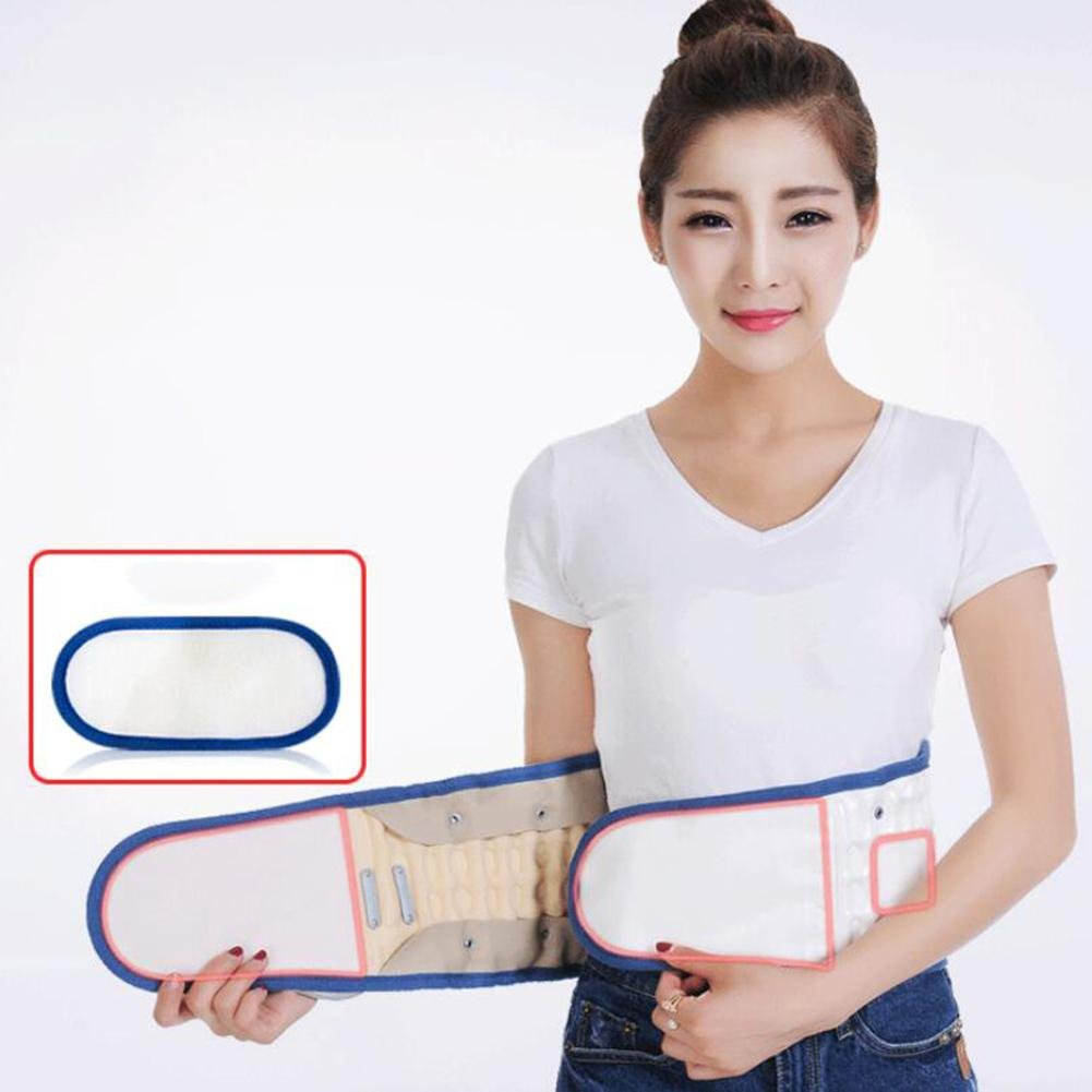 LPY-Lumbar Support Lumbar Disc Herniation Massager Spinal Air Traction Air Wave Back Belt , A by Waist support (Image #5)