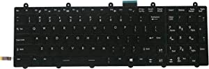 AUTENS Replacement US Layout Keyboard for MSI GE60 GE70 GT60 GT70 Laptop Colorful Backlight
