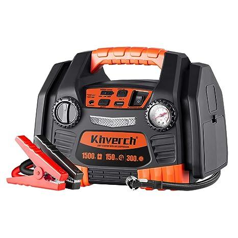 Amazon.com: Kinverch arrancador de batería: Automotive