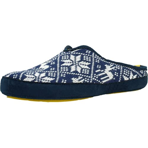 Zapatillas de Estar por casa de Hombre, Color Azul, Marca NORDIKAS, Modelo Zapatillas De Estar por Casa De Hombre NORDIKAS Bama 17 Azul: Amazon.es: Zapatos ...