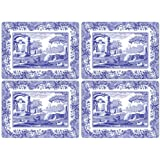Spode Blue Italian Placemats, Set of 4