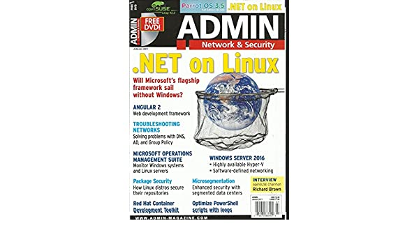 Amazon com : ADMIN NETWORK & SECURITY MAGAZINE, JUNE/JULY