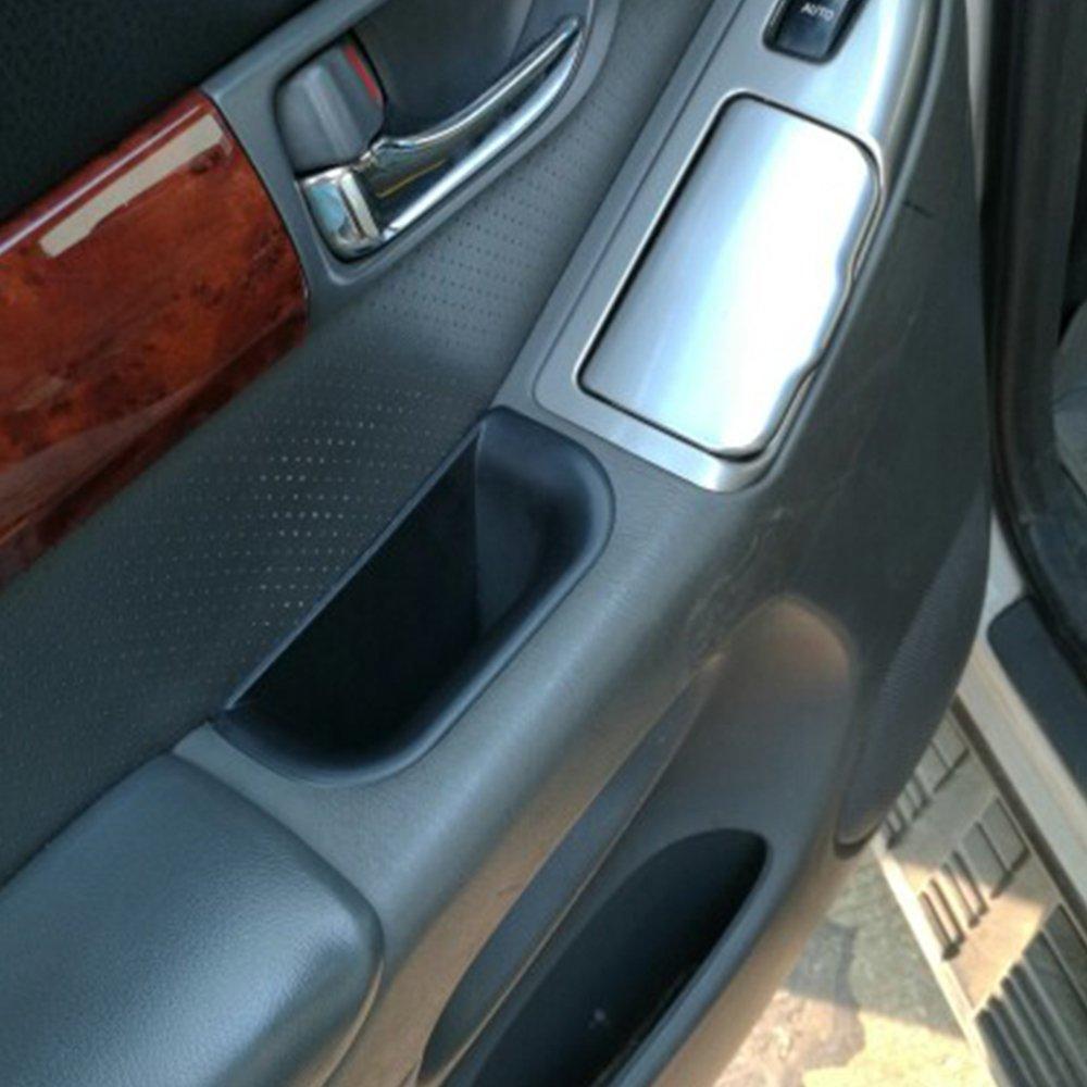 Carmonsons Car Organizer for Toyota Land Cruiser Prado 2004-2009 Door Handle Armrest Container Holder Tray Storage Box Car Styling Beige
