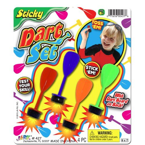 JaRu Sticky Dart Set