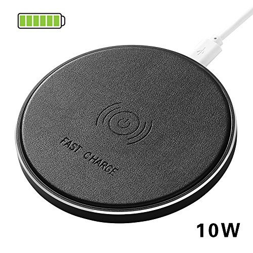 10W Fast Wireless Charger Pack of kit Station QI Standard for iPhone 8 Plus X Samsung Galaxy S9 note8 S8
