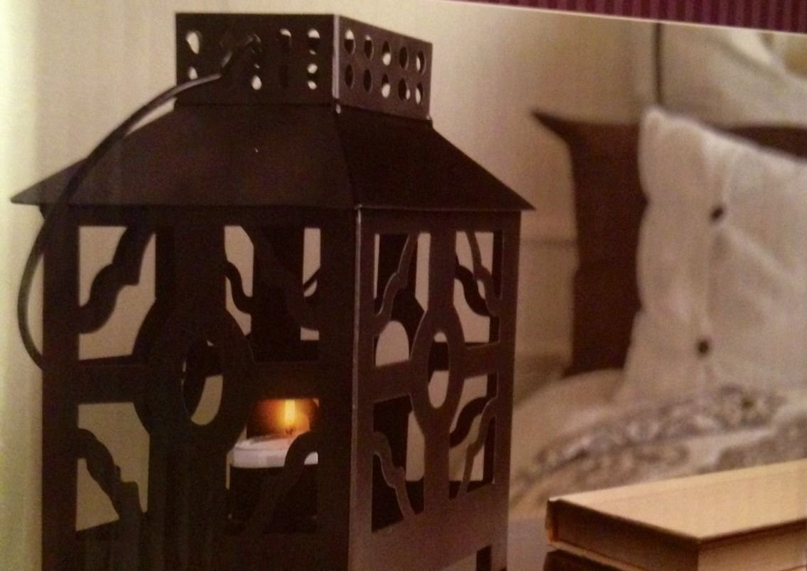 Amazon.com : Mini TEA Light Lantern with Tealight : Garden & Outdoor