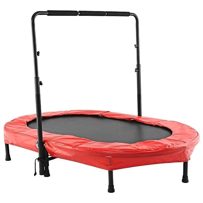 Lonlier Trampolín plegable para niños y adultos Jumping ...