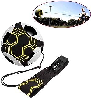 Haolv Aide à la Formation de Football, compétences de contrôle de la Pratique en matière d'entraînement en Solo Ceinture réglable Football Soccer Kick Throw Trainer