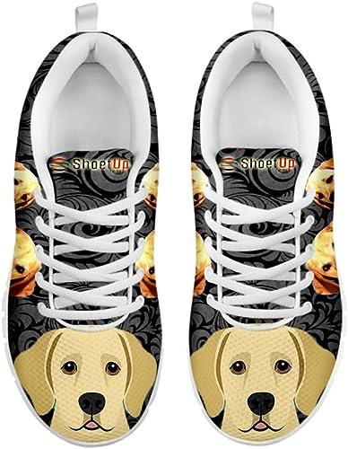 Kids Sneakers Golden Retriever Print Kids Casual Running Shoes