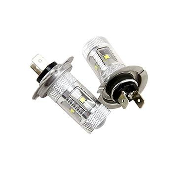H7 499 Bombillas LED CREE de 30 W para faros delanteros de coche, 12 V