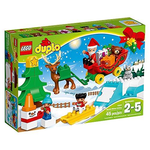 LEGO Duplo Town Santa's Winter Holiday 10837 Building Kit JungleDealsBlog.com