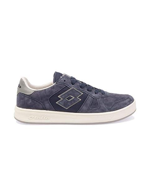 Lotto Sneakers Uomo 7382BLUE Pelle Blu  Amazon.it  Scarpe e borse 831cc9d61c7