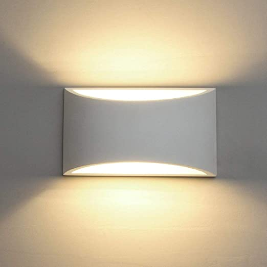 LED Wall Lights Plaster Wall Sconce Light Fixture up Down Decorative ...