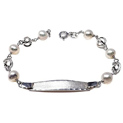 información para 50088 4f531 Pulsera plata ley 925m esclava 17cm perla cultivada jaula ...