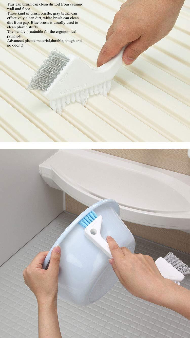 Tuersuer Easy to Assemble Washbowl Gap Brush Gap Brush Gap Brush Cleaner Gap Brush Bathroom Sink Gap Brush