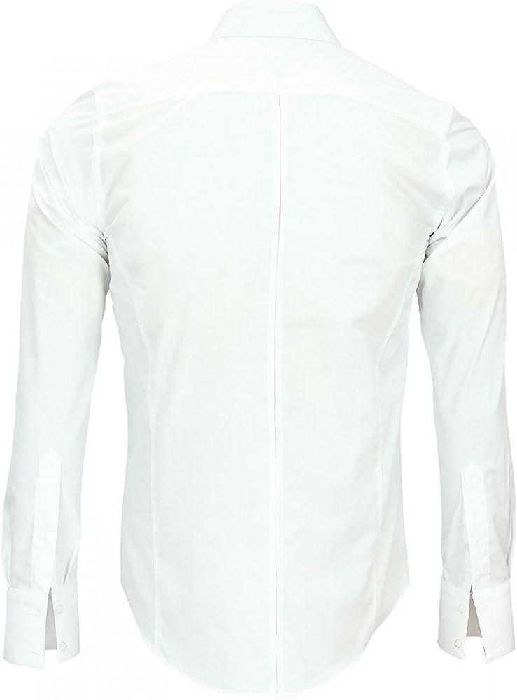 Andrew Mc Allister Camisa cuello Inglés John blanco blanco 44 ...
