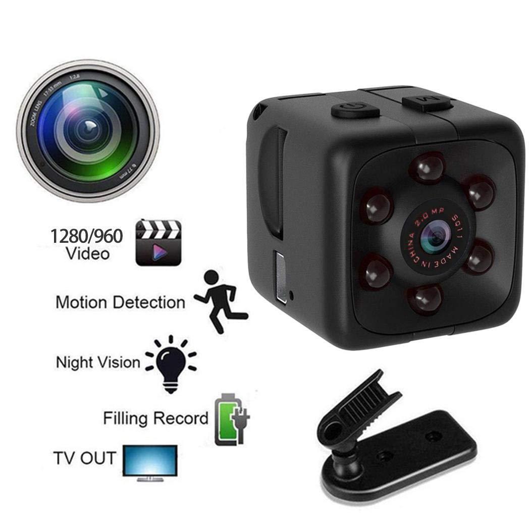 pairris SQ11 Negro HD Fotografía Cámara de visión Nocturna para Deportes 1280 x 960 Cámaras Digitales