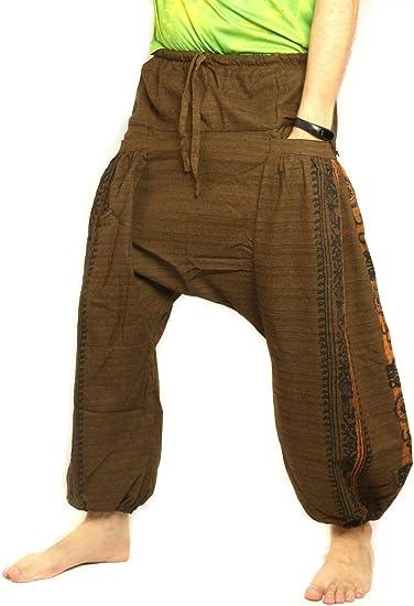 Harem Trousers Ethnic Elasticated Smock Thai Alibaba Hippie Festival Boho Pants