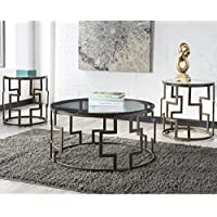 Flash Furniture Signature Design by Ashley Frostine 3 Piece Occasional Table Set